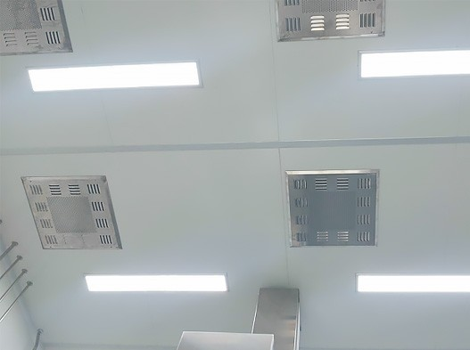 Led ultra thin clean light